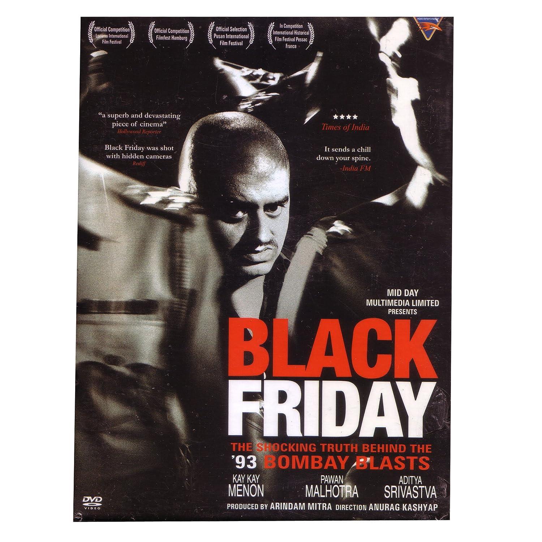 Amazon Com Black Friday Indian Bollywood Movies Kay Kay Menon Anurag Kashyap Arindam Mitra Movies Tv