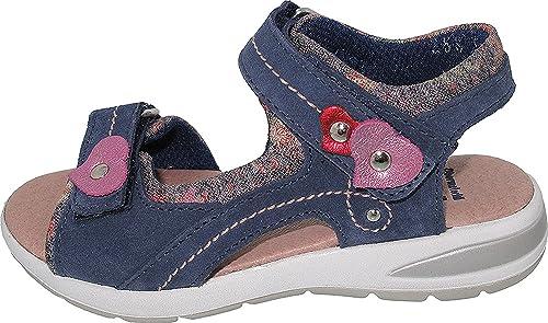 3acef4e1c Helgas Modewelt 270031 - Sandalias de Vestir para Niña  Amazon.es  Zapatos  y complementos