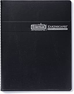 product image for House of Doolittle 2018 Weekly/Monthly Planner Calendar, Earthscapes, Tabbed, Black, 8.5 x 11 Inches, January - December (HOD27302-18)