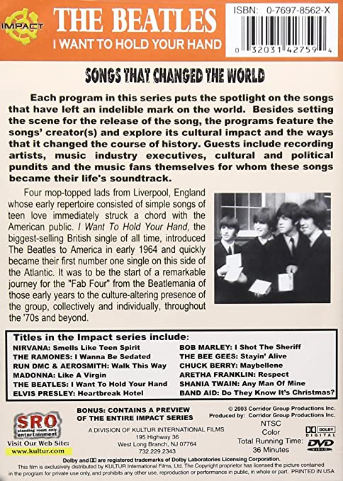 Amazon Impact Songs That Changed The World The Beatles I