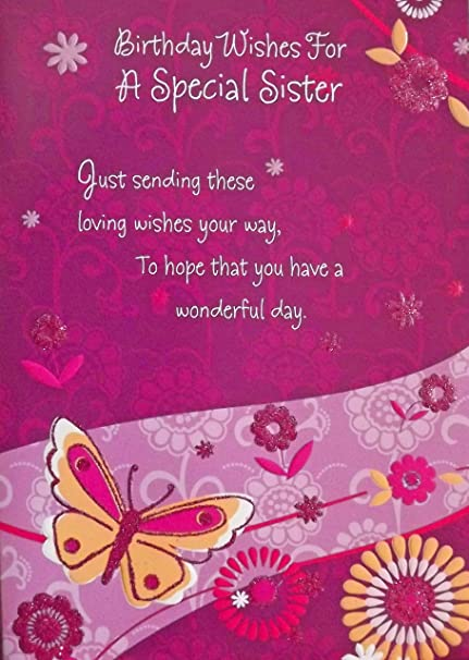 Amazon Ladies Purple Pink Birthday Wishes For A Special