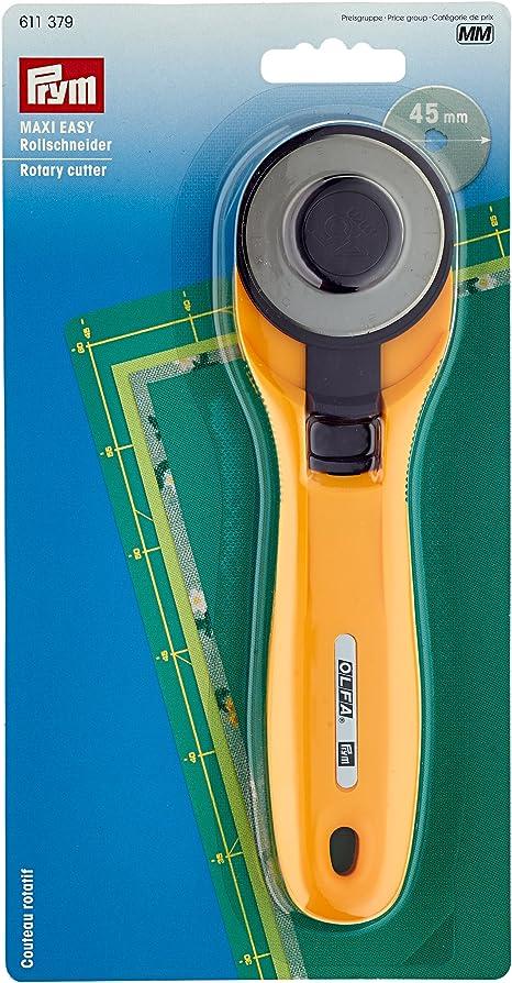 Prym Rollschneider Ergonomics Klinge 45mm mit Klingenschutz Rotary cutter 610474