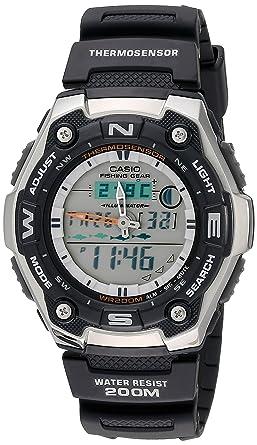 amazon com casio men s aqw101 1avcf active dial multi task gear rh amazon com Casio Pathfinder Manual 2805 Casio Pathfinder Tough Solar Manual