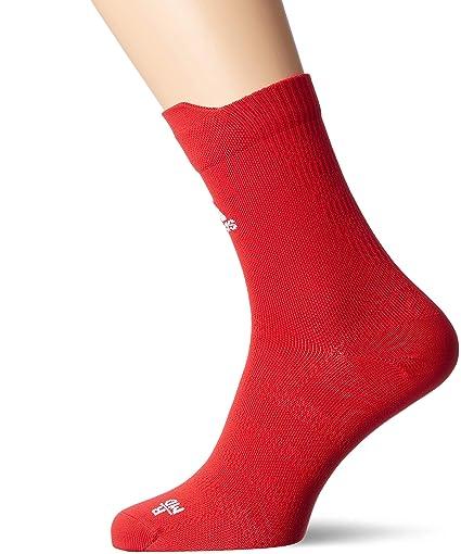 adidas Alphaskin Ultralight Crew Socks Calcetines, Unisex Adulto, Rojo (Rojpot/Blanco)