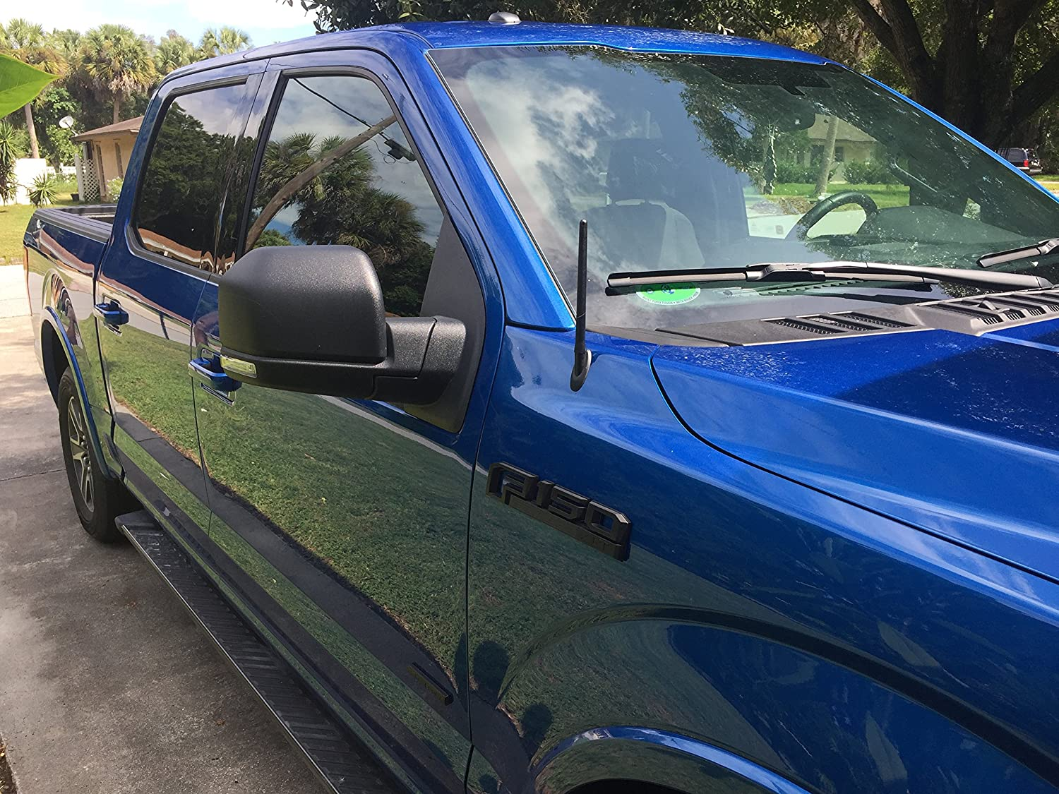 2009-2019 The Original 6 3//4 Inch is Compatible with Ford F-150 Internal Copper Coil AntennaMastsRus Premium Reception German Engineered - Short Rubber Antenna
