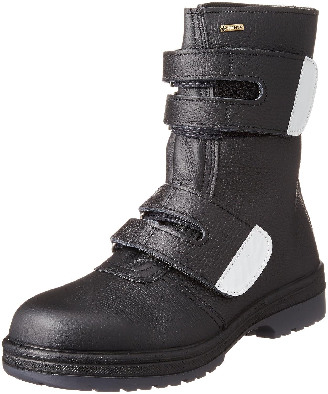 [ミドリ安全] 防水 長編上靴 ラバーテック RT935防水反射 B01LPFNO2E 26.0 cm ブラック ブラック 26.0 cm