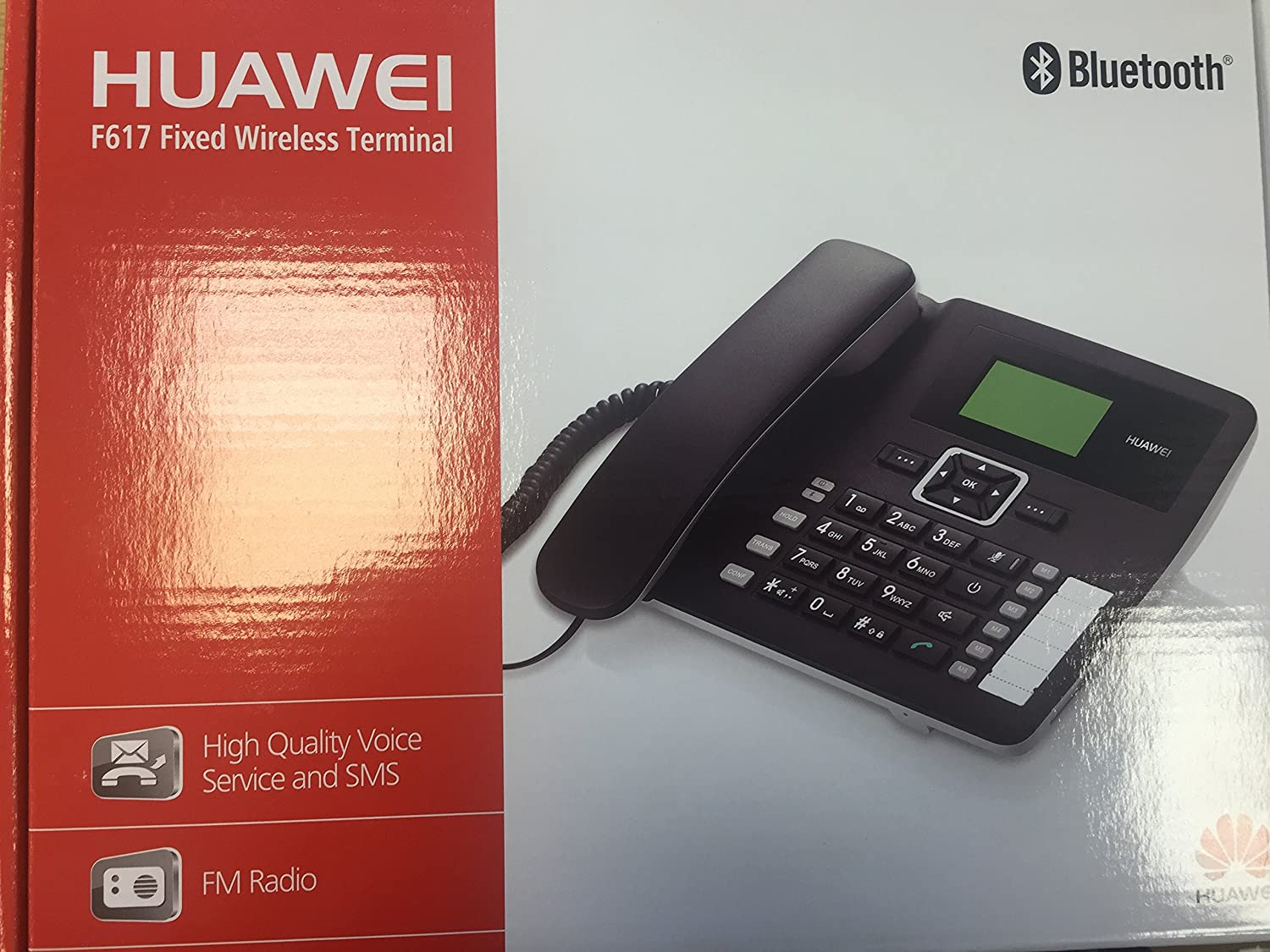 Telefono de escritorio con cable Huawei F617 0005: Amazon.es ...