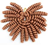 Razeal 6 PACKS Crochet Braids Kenzie Curl Hair Extension 16inch Cute Braids Hair (Color #30)