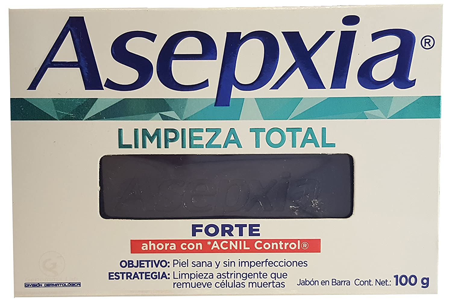 Amazon.com: Asepxia Forte Acne & Blemish Control Antiacnil Fp Soap Bar 100g (2-pack) (Asepxia Forte Acne & Blemish Control Antiacnil Fp Soap Bar 100g ...