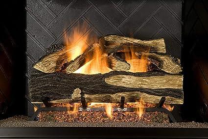 amazon com sure heat sh24dbnl 60 vented gas fireplace logs 24 rh amazon com Home Gas Fireplace Home Gas Fireplace