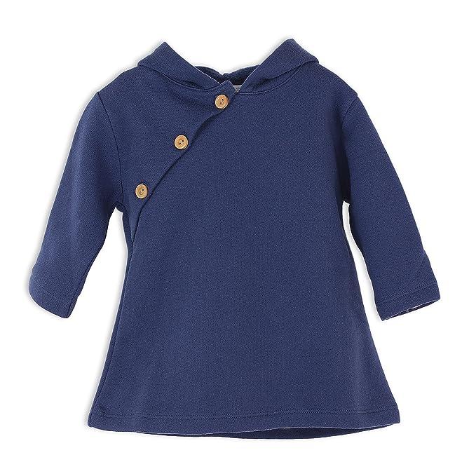621d38f9e44b Amazon.com  Feather Baby Little Girls Pima Cotton Long Sleeve Winter ...