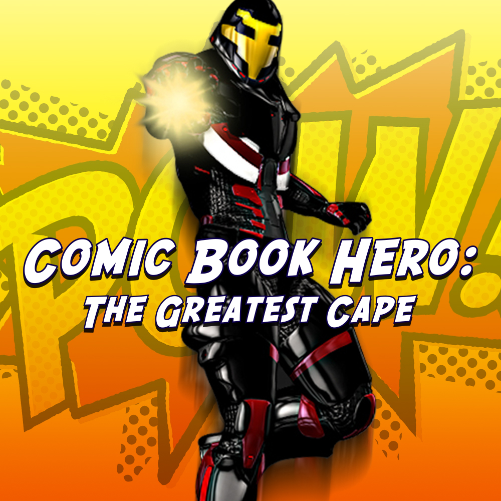 Comic Book Hero The Greatest Cape Full