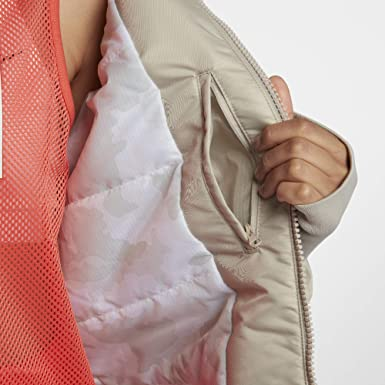 Amazon.com: Nike Sportswear NSW - Parka para mujer: Clothing