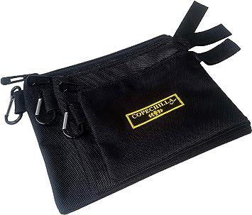 Copechilla 3PCS Estuche escolar negro gran capacidad con mosquetón,3 TAMAÑO Bolsa de lápiz 21X17CM,17X15CM,14X12CM Material densidad alta impermeable resistente al desgaste,para estudiantes y Oficina: Amazon.es: Bricolaje y herramientas