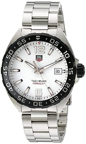 TAG Heuer Formula 1 - Reloj (Reloj de Pulsera, Masculino, Acero, Acero