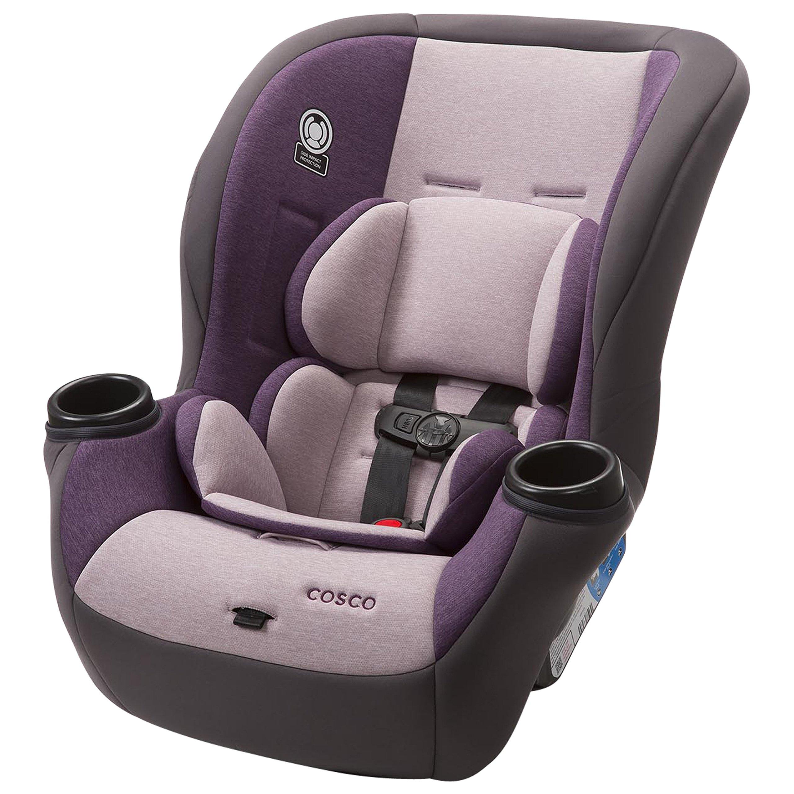 Cosco Comfy Convertible Car Seat, Heather Amethyst