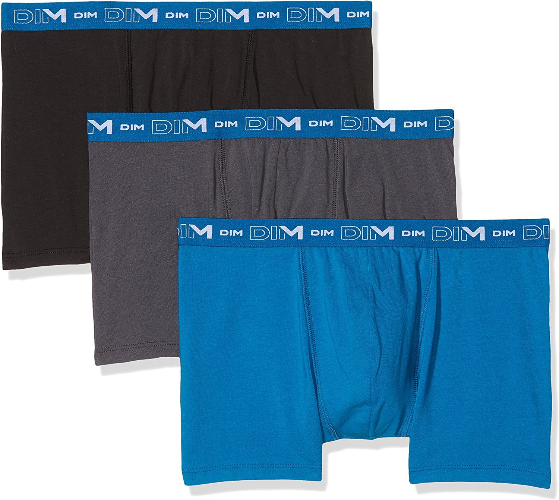 TALLA Large (Tamaño del fabricante:4). Dim Shorts (Pack de 3 para Hombre