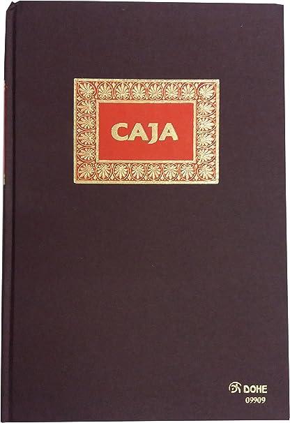 Dohe 9909 - Libro de contabilidad, caja, folio natural: Amazon.es ...