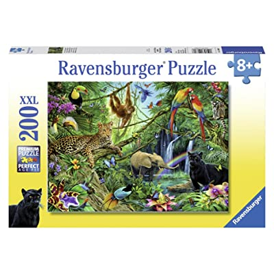 Ravensburger Animals in The Jungle Jigsaw Puzzle (200 Piece): Toys & Games