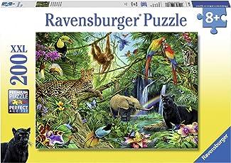 Ravensburger Puzzle Animales de la Selva, 100 Piezas