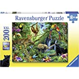 Ravensburger Animals in The Jungle Puzzle 200pc,Children's Puzzles