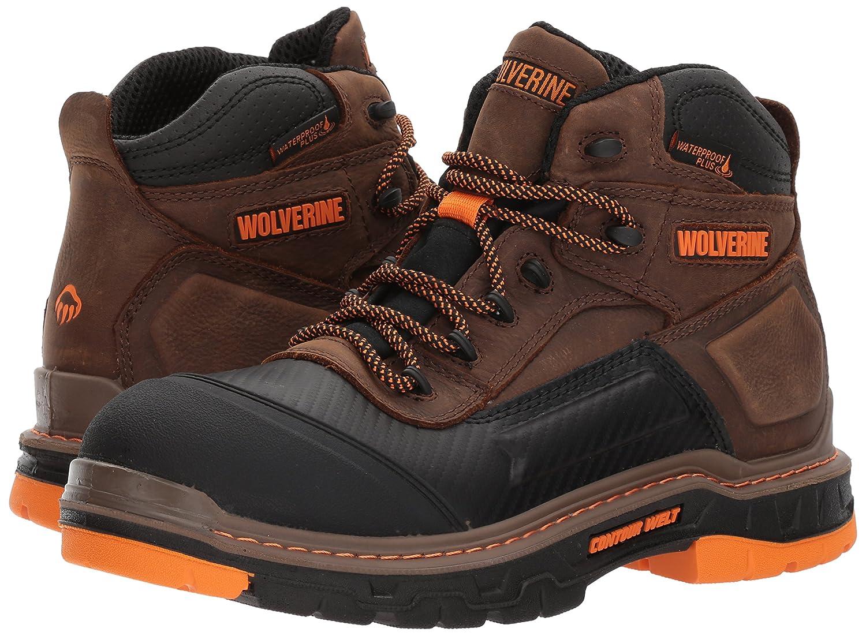Wolverine Mens Overpass 6 Soft Toe Waterproof Work Boot
