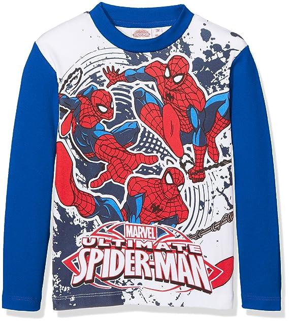 4b44ab62 Marvel Spiderman T-Shirt, Maglietta Bambino, 643 Bluette, 3 Anni:  Amazon.it: Abbigliamento