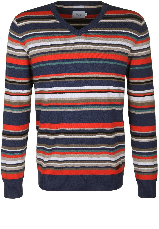 Dress In Shirt langarm sweatshirt gestreift gerade hüftlang nicht elastisch