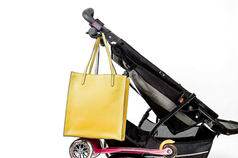 Scoot - The Ultimate Buggy Hook, Gancho de transporte de patinetes para cochecito de bebé