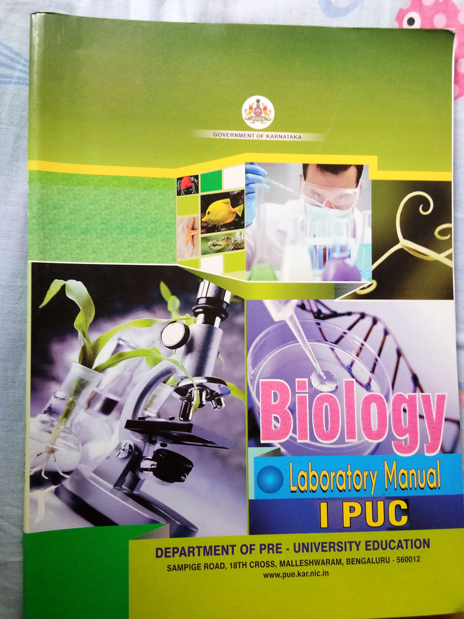 Amazon.in: Buy Physics, chemistry, biology laboratory manual for 1st puc,  ncert, karnataka Book Online at Low Prices in India | Physics, chemistry,  ...