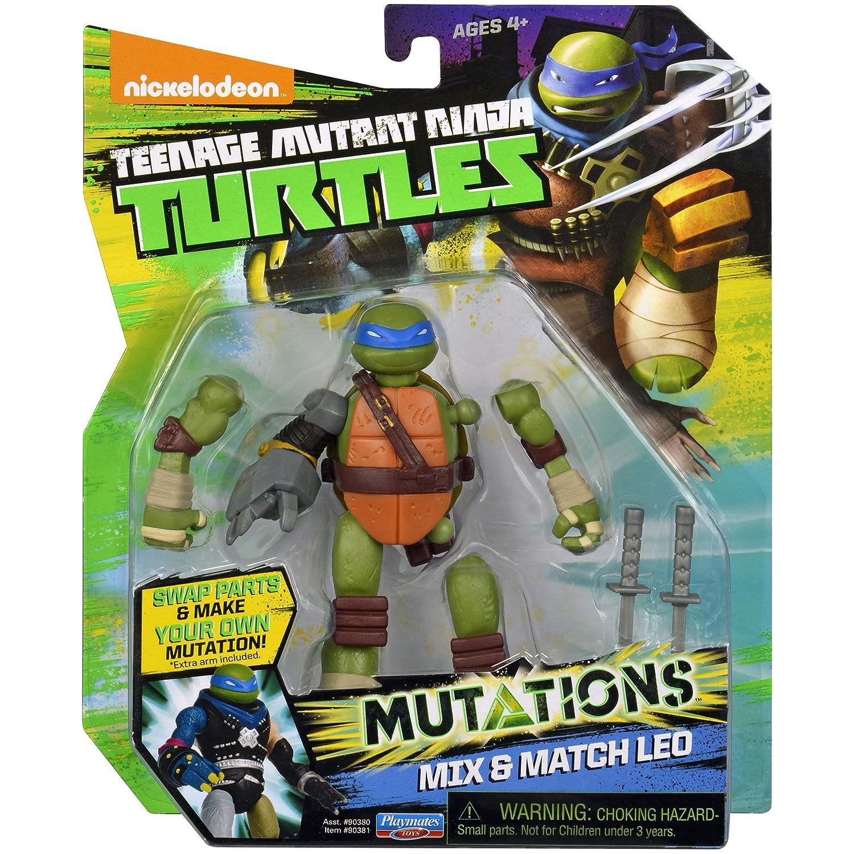 Teenage Mutant Ninja Turtles Mix & Match Leonardo Figure ...