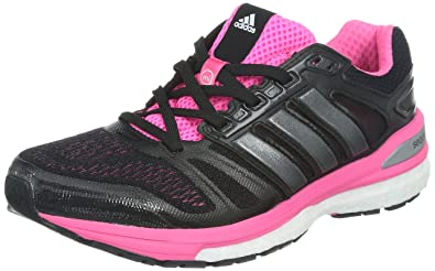 adidas Supernova Sequence Boost 7, Chaussures de running femme Noir (Core Black
