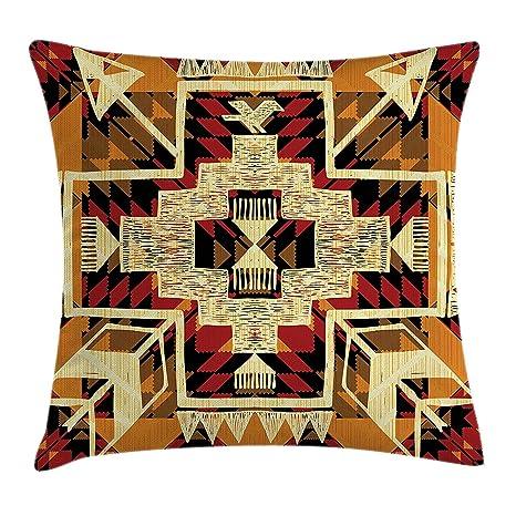Arrow Decor Funda de cojín, diseño de nativo americano retro ...