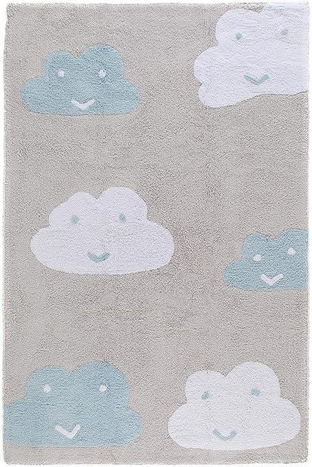 Benuta Alfombra Infantil (Bambini Clouds | Alfombra para de Juego ...