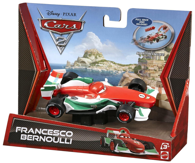 Amazon Com Cars Pullback Racers Francesco Bernoulli Toys Games