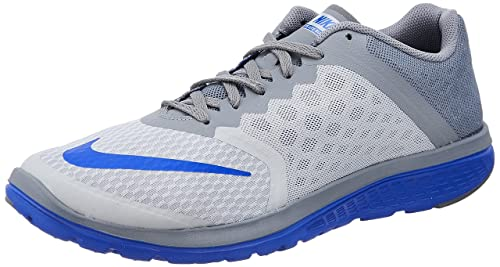 bf64becc51d Image Unavailable. Image not available for. Colour  Nike Mens FS LITE Run 3  Shoes Wolf Grey Racer ...
