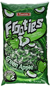 Tootsie Rolls Frooties Green Apple Candy (360 count)