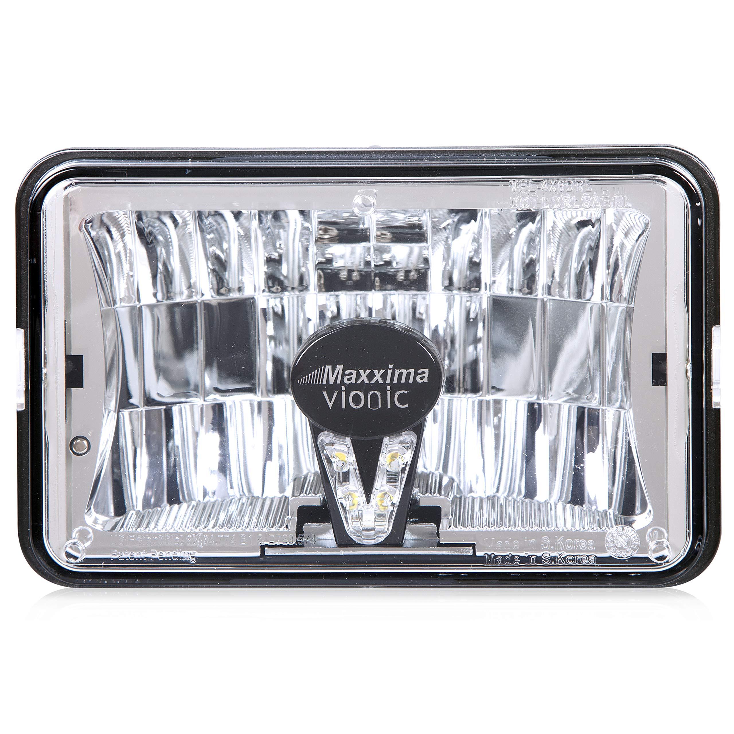 Maxxima VHL-4X6DRL-MH Vionic 4'' X 6'' Head Lamp Combo Low Beam DRL MaxxHeat Lens