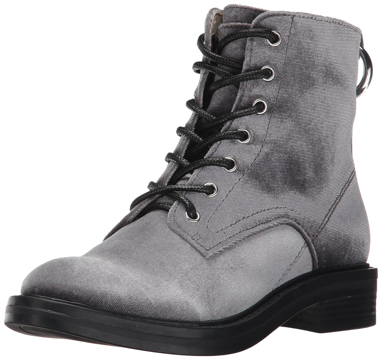 Dolce Vita Women's Bardot Combat Boot B072JVMV3V 10 B(M) US|Charcoal Velvet