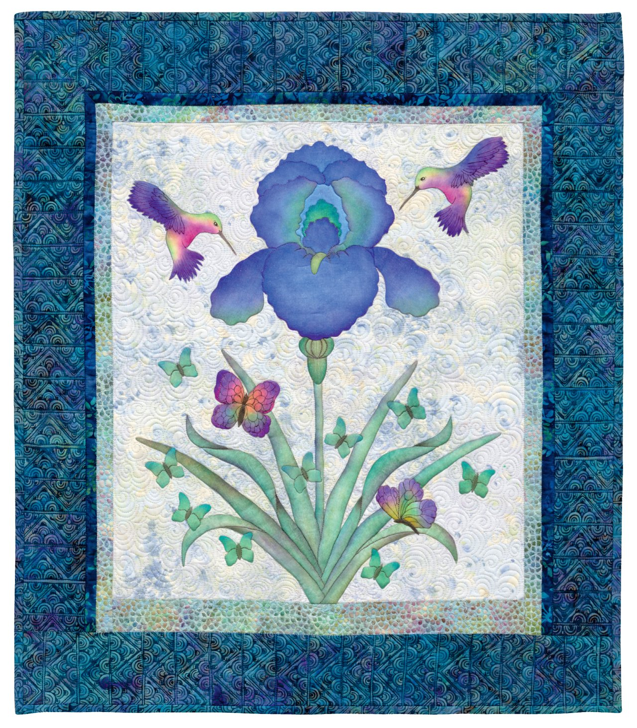 Creative Quilts from Your Crayon Box: Melt-n-Blend Meets Fusible Applique by Brand: That Patchwork Place