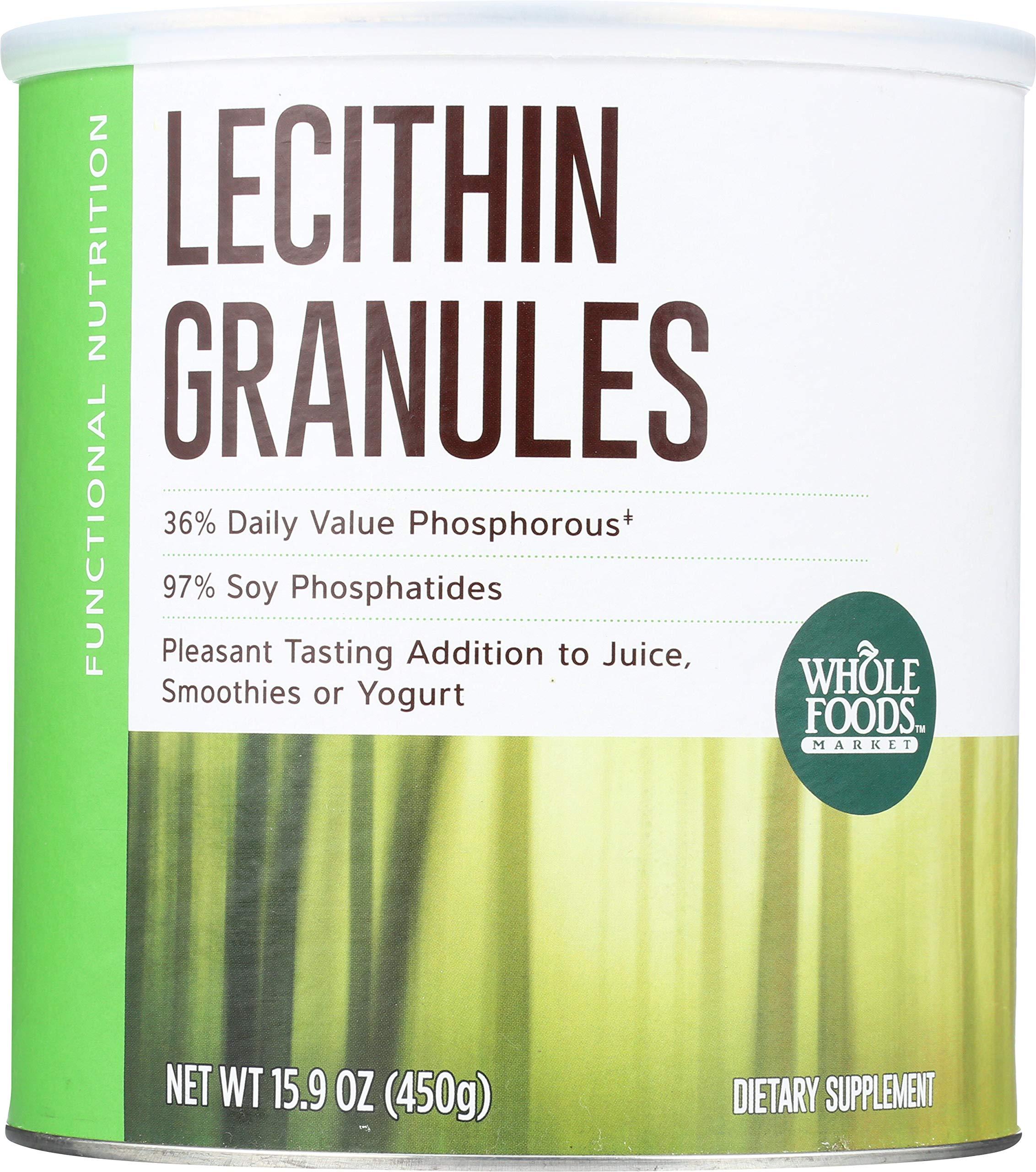 Whole Foods Market, Lecithin Granules, 15.9 oz by Whole Foods Market