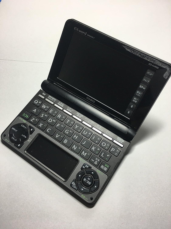カシオ 電子辞書 エクスワード 高校生モデル 150コンテンツ XD-N4900BK ブラック B00BXZM8SI ブラック ブラック