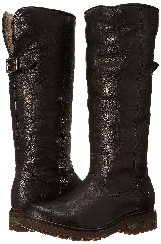 FRYE Women's Valerie Sherling Pull-On Riding Boot B00IMJLM58 6.5 B(M) US|Black-75007