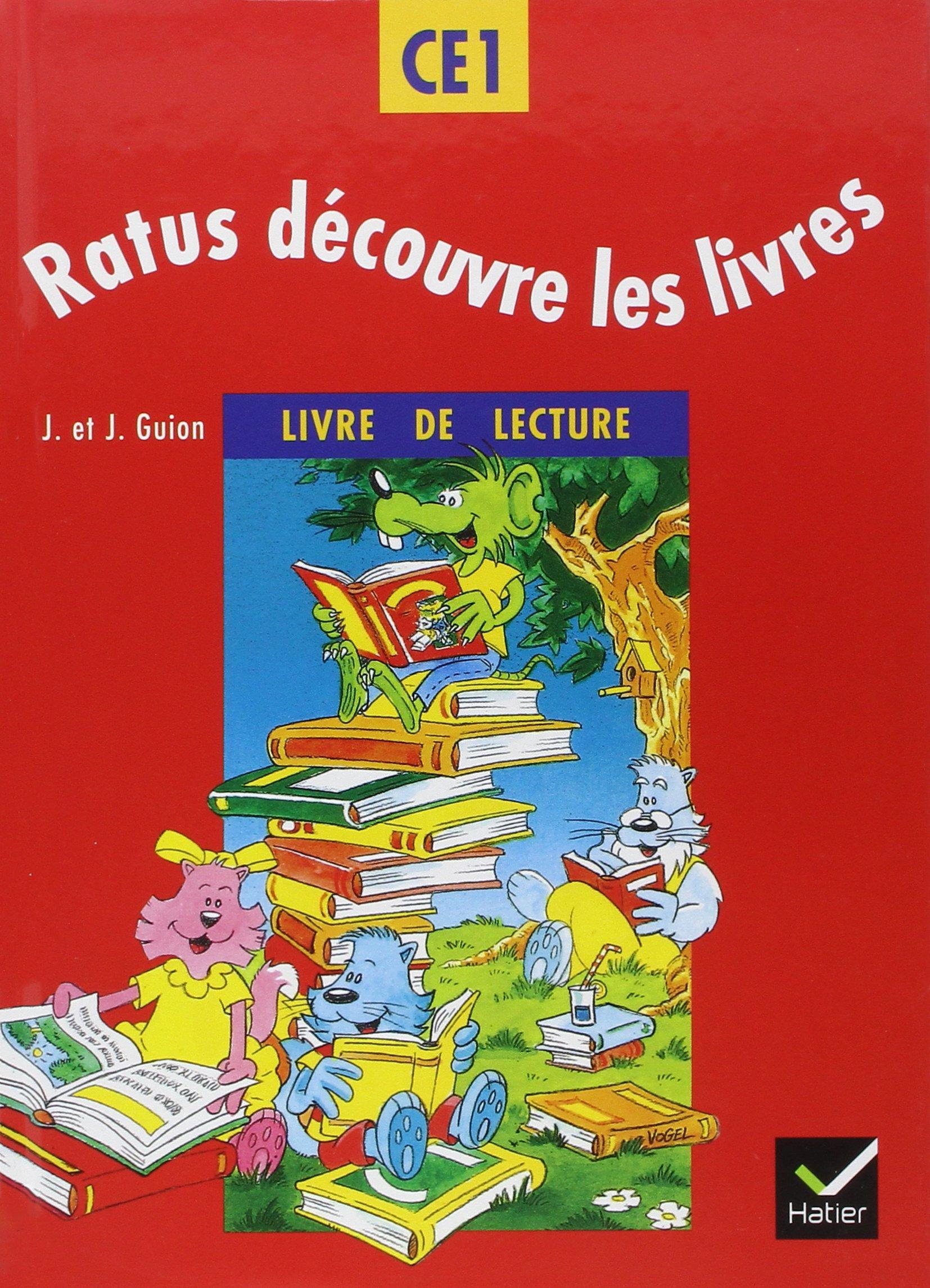 Ratus Decouvre Les Livres Ce1 Methode De Lecture Eleve