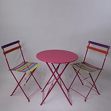 Lucht Gartentisch Mit Zwei Stuhlen Metall Gartengarnitur Tisch