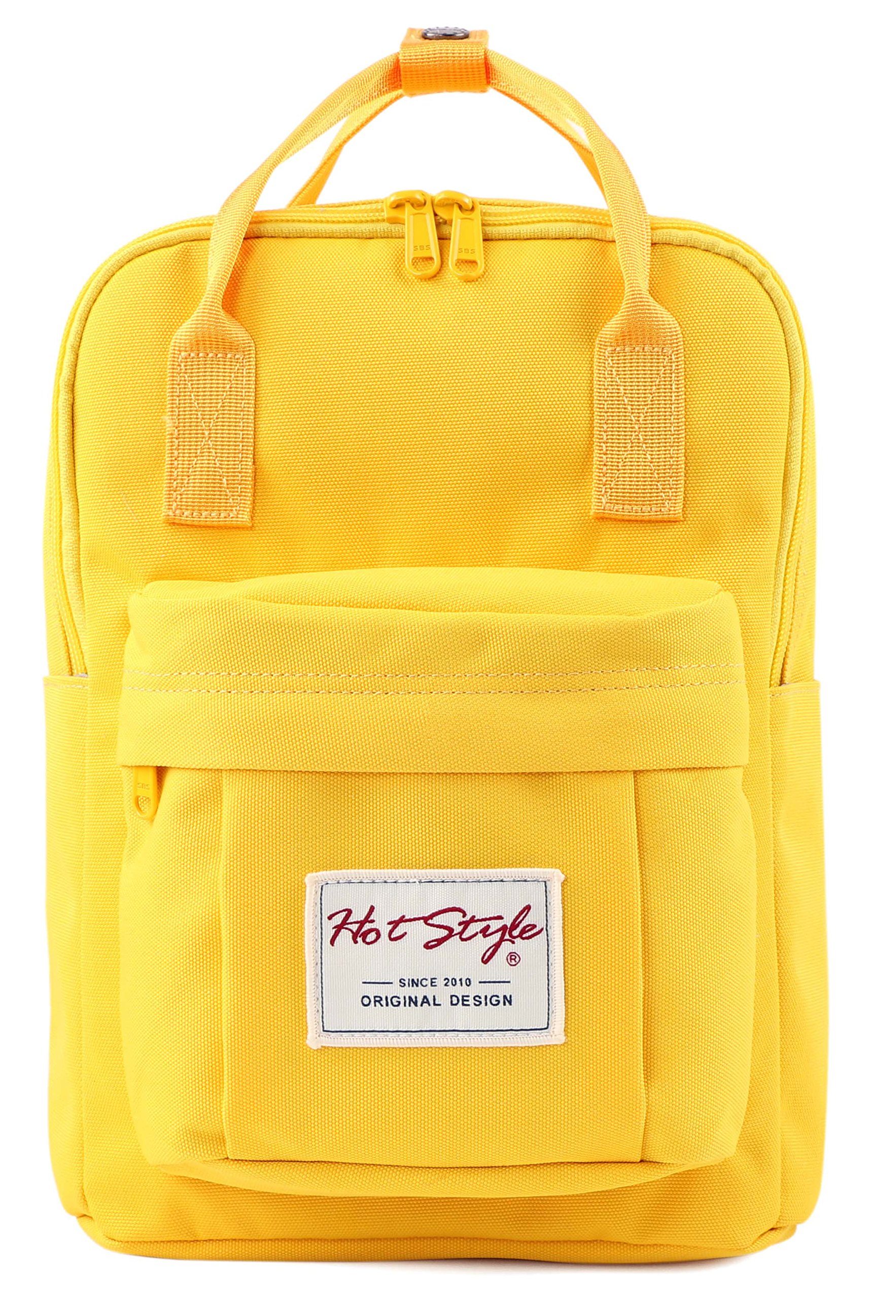 BESTIE 12'' Cute Mini Small Backpack Purse Travel Bag - Yellow
