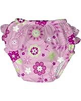 i play. Baby & Toddler Girls' Ultimate Ruffle Swim Diaper