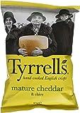 Tyrrell's Chips Lisses Cheddar Affine/Ciboulette 40 g - Lot de 24