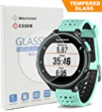 Exuun 0.3mm 2.5D Tempered Glass Screen Protector for Garmin Forerunner 235 225 630 620 220 230