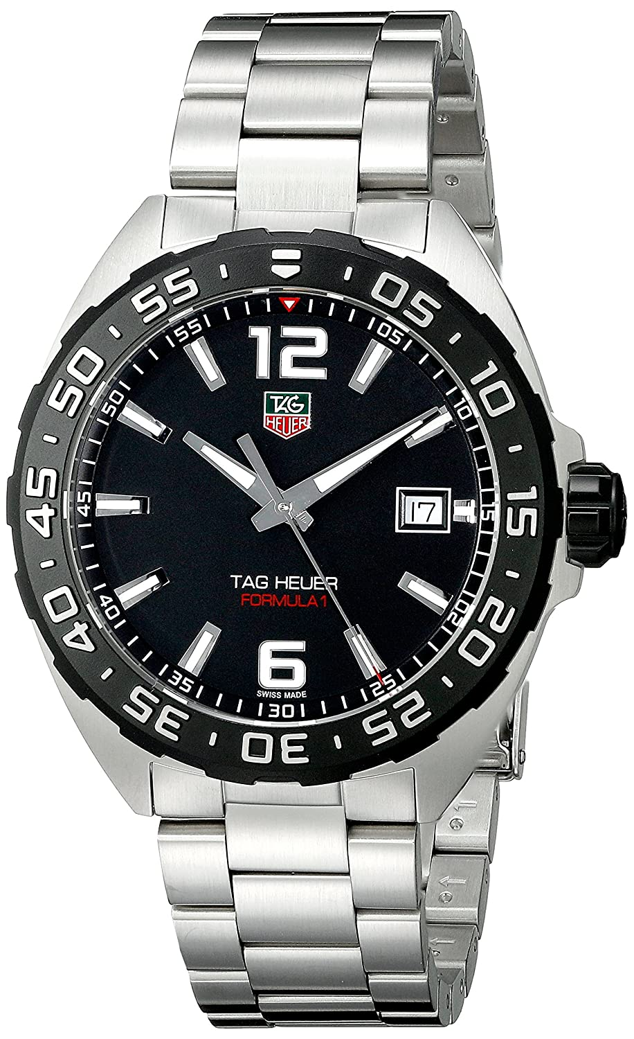 watch adc53 ee8d4 Amazon.com  TAG Heuer Men s WAZ1110.BA0875 Stainless Steel Watch  TAG Heuer   Watches